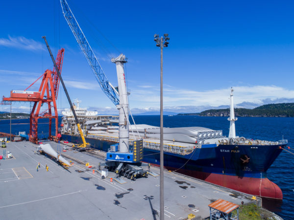 Liebherr Mobile Harbour Crane