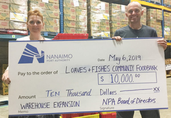 Community Support Nanaimo Port Authority