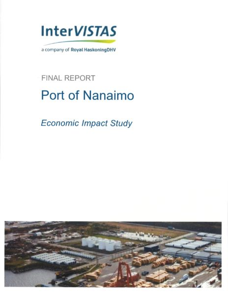 Economic Impact Study - 2014 - Nanaimo Port Authority