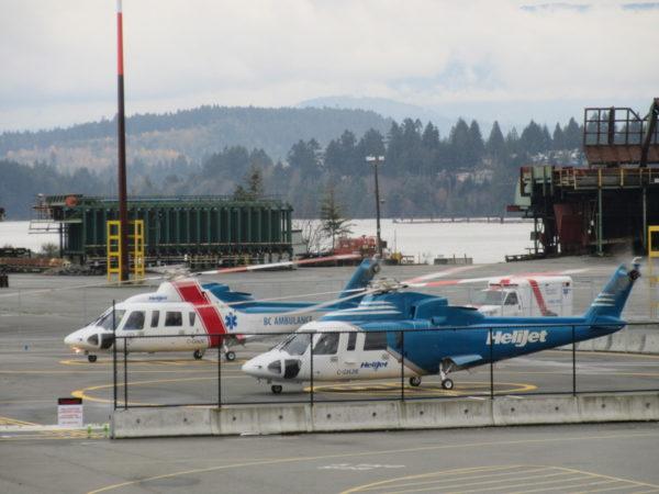 Air Ambulance & Heliport - Port of Nanaimo