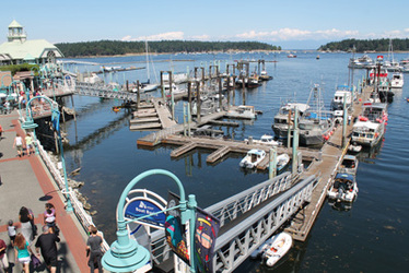 Boat Basin - Harbourside Walkway - Seaplane Terminal - Nanaimo