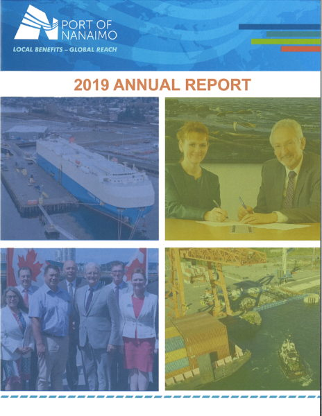 Annual Report - 2019 - Port of Nanaimo