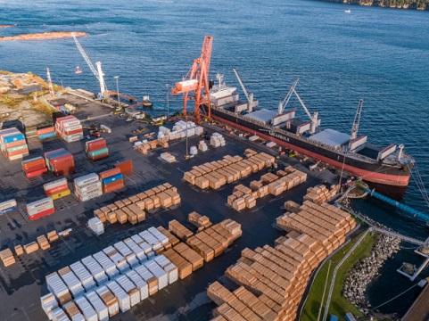 Duke Point Wharf - Nanaimo