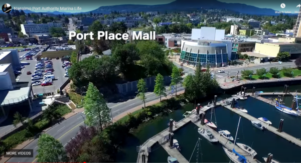 Boat Basin Marina adjacent to Port Place Mall & Downtown Nanaimo