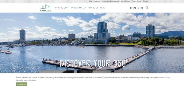 Tourism Nanaimo Home Page