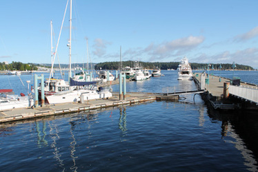 Visiting Vessel Pier & Lower Docks - W. E. Mills Landing & Marina - Nanaimo