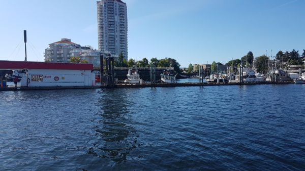 Customs Dock - Water level View - Nanaimo Boat Basin