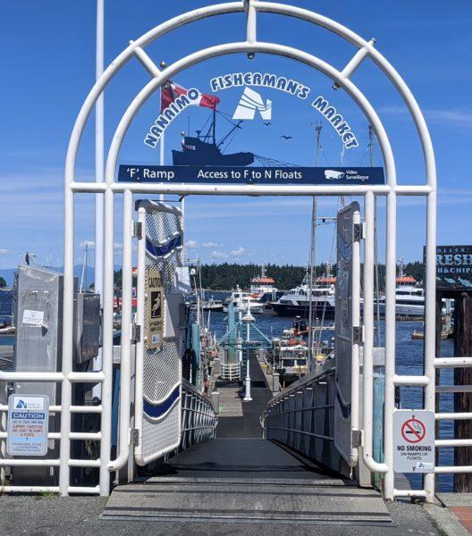 Fish Sales Dock - Nanaimo Boat Basin