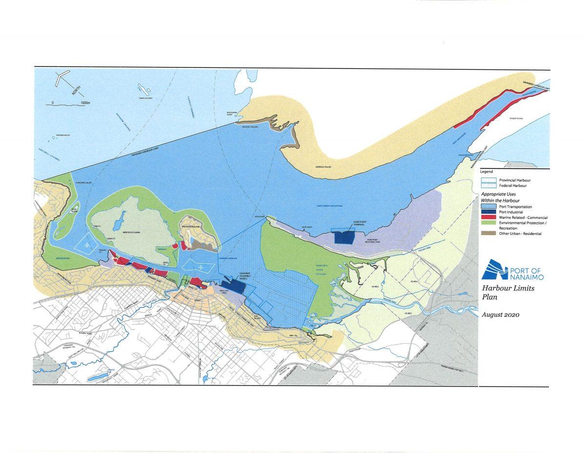 Harbour Limits Plan - Port of Nanaimo